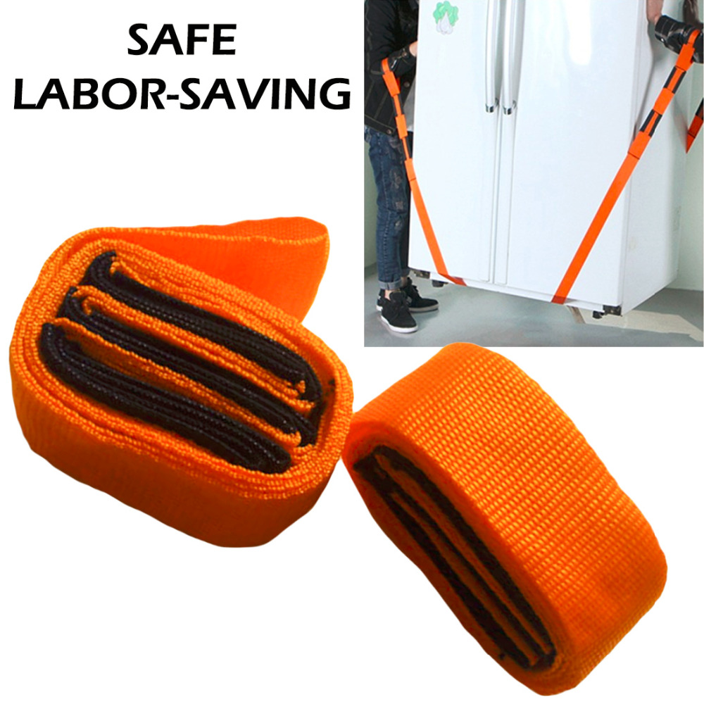 2pcs Hand Tool Forearm Lifting Moving Strap Furniture Transport Belt Easier Carry Rope Cheap Price Straps image