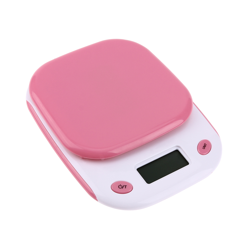 5kgx0.001kg Household LED Digital Electronic Steelyard Kitchen Bakery Food Scale  Kitchen Mini Pocket Bench Weight  In Weighing Scales From Tools On ...