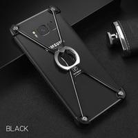 OATSBASF Phone Case For Samsung Galaxy S8 S8 Cover O Ring Kickstand Aviation Aluminum Alloy Phone