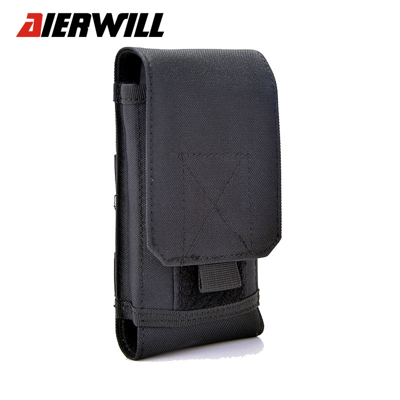 Outdoor Sports Holster Hook Loop Army Belt Phone Case Cover
