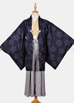 Kimono Costume Anime Card Captor Sakura Cosplay LI SYAORAN Cos Halloween Party Cos Male Japanese Kimono Costume