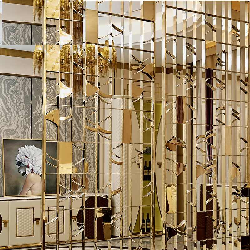 Detail Feedback Questions about Decorative Interior Metal Wall Divider Panels \/ Architectural