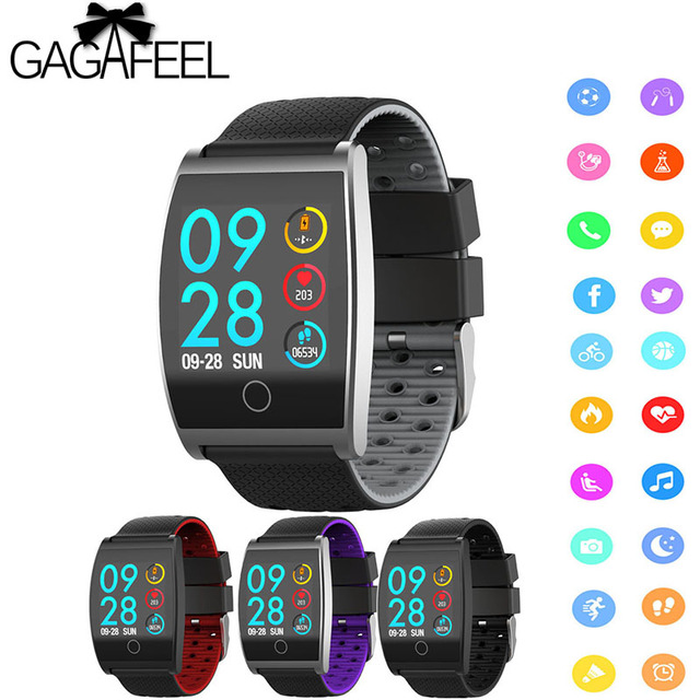 QS05 Smart Watch Wristband With Blood Pressure Blood Oxygen Heart Rate Monitor S