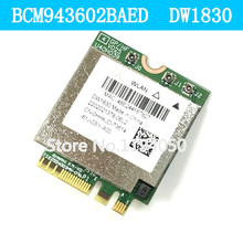 BCM943602BAED DW1830 AC BCM943602 NGFF M 2 1300Mbps BT4 1 WiFi Wireless Network Card better than