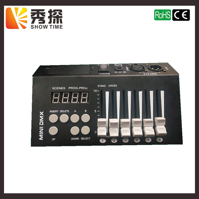 Freeshipping MINI DMX 54 Stage Lighting Controller Mini Stone Controller led par moving head beam light tiptop mini pearl 1024 dmx controller for moving head light dmx lighting controller with fase wave dmx controller new arrival