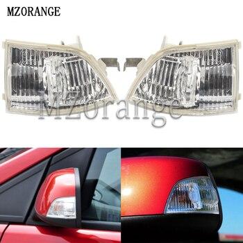 MZORANGE voiture rétroviseur clignotant côté rétroviseur indicateur lumineux pour Ford Focus 2003-2013 pour C-MAX 2003-2010 sans ampoule