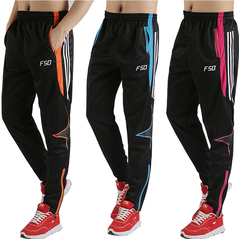 Spring And Summer Thin Football Pants Fitness Breathable Quick-drying Leggings Sports Pants Riding Running Pants
