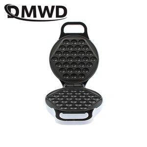 """Image 4 - DMWD מיני נייד הונג קונג חשמלי ביצי בועת ופל יצרנית QQ אברדין ביצת חביתה מכונת eggettes פאף עוגת פאן איחוד אירופי ארה""""ב plug"""