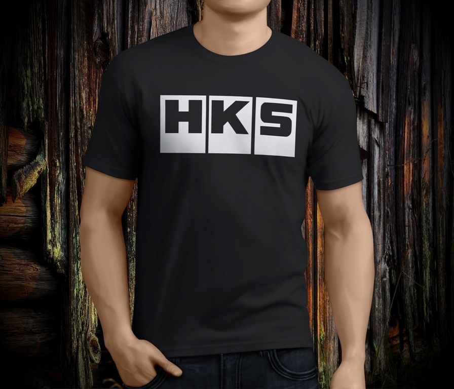 New Cool <font><b>HKS</b></font> Exhaust Turbo Lustig männer Schwarz <font><b>T</b></font>-<font><b>shirt</b></font> Größe S-3XL Print <font><b>T</b></font>-<font><b>shirt</b></font> Sommer Casual top <font><b>t</b></font> Kawaii image