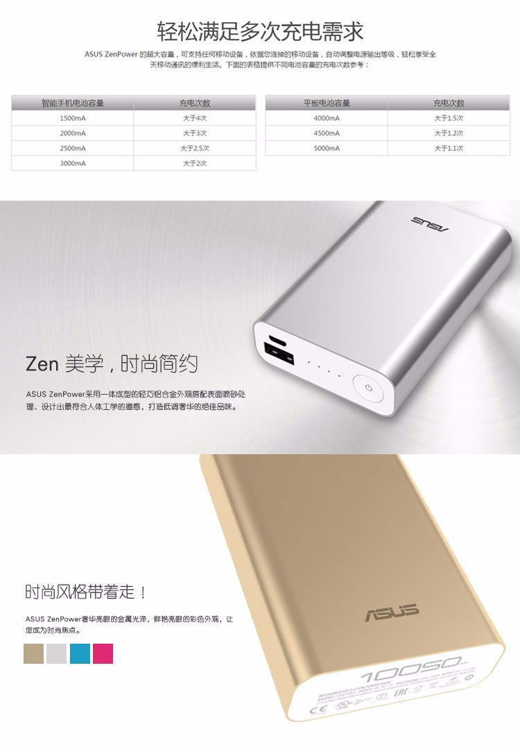 Original Zenpower 10500 Mah External Battery Power Bank For Asus Usb Cable Wiring Diagram Packing 1 Manual