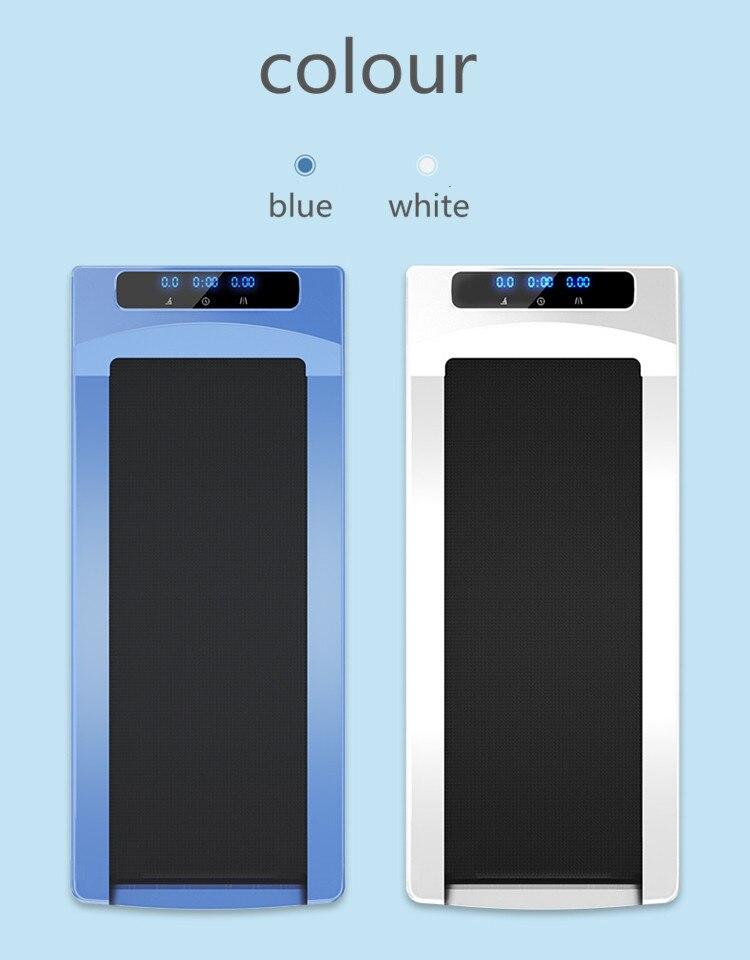 Treadmill Home Smart Tablet Mini Simple Folding Super Silent Indoor Fitness Walking Machine