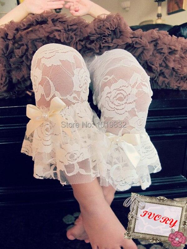 524cad4c84e Cream Ivory Baby Lace Leg Warmer Girl Lace Leg Warmers Ivory Lace ...