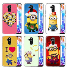 Tampa Do caso Para O Huawei Honor P20 Companheiro 20 10 P10 P9 P8 8X9 Lite P Smart + Plus 2017 2019 Nova 3 iClear Despicable Me Minions Coque(China)