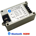 Free shipping, DC12-24V Bluetooth RGBW LED Controller by Android/IOS Smartphone for 5050 RGBW Led Strip