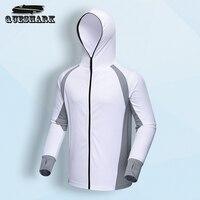 De Pêche de Sports de plein air Hommes Veste Randonnée Hoodies Vêtements À Séchage Rapide Anti-UV Solaire Respirant La Pêche Vêtements