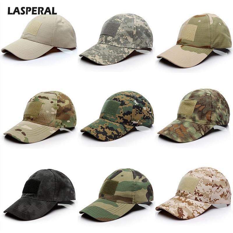 LASPERAL 17 Colors Camo   Baseball     Cap   For Men Male Bone Masculino Dad Hat Trucker New Tactical   Cap   Camouflage Snapback Hat