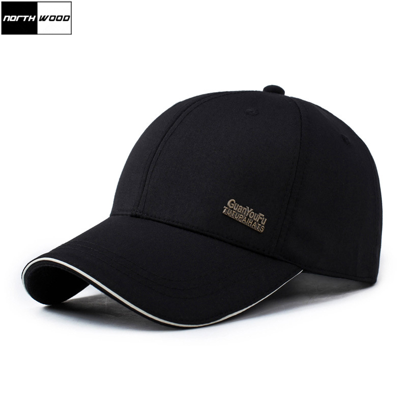 [NORTHWOOD] Classic Solid Mens   Baseball     Caps   Women Casual Bone Masculino Summer   Cap   Snapback Hip Hop Trucker   Cap