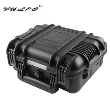 VULPO ABS Pistol Case Tactical Hard Pistol Storage Case Gun Case Padded Hunting Accessories Carry Boxs for Hunting Airsoft