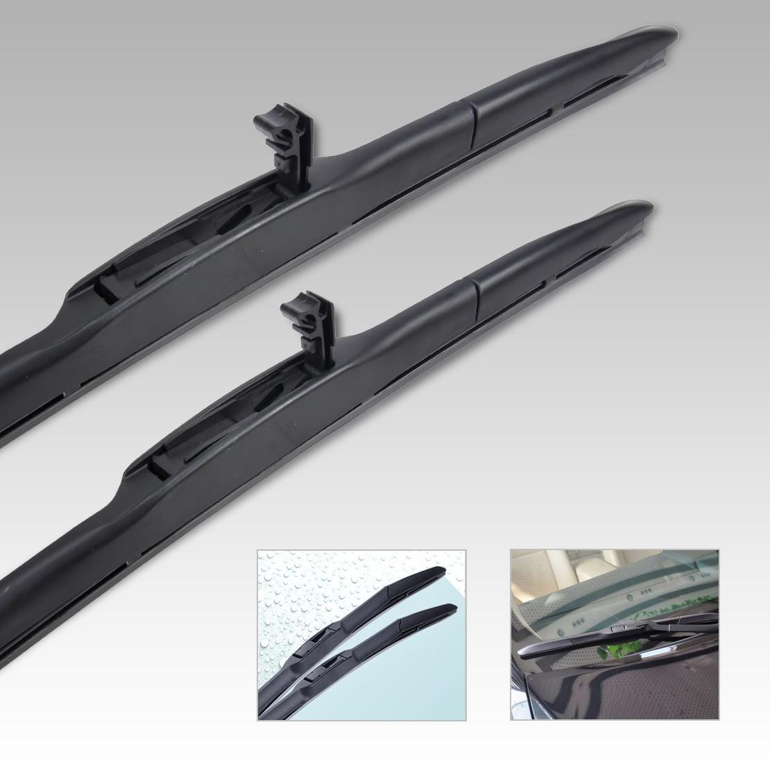 Citall 26 14 hybrid 3 section rubber rain window windshield wiper blade for