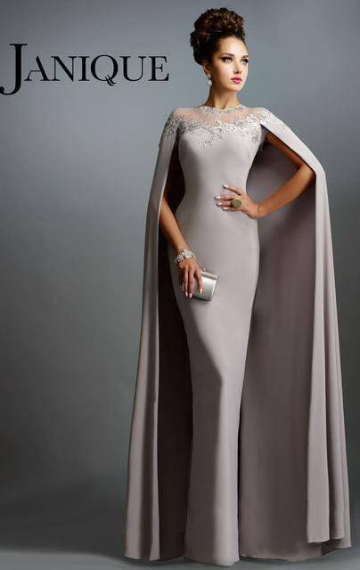 Vestidos fiesta largos grises