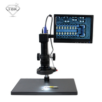 TBK10A HD 10~180x Professional Microscope Electronic Display Amplification Magnifier For Iphone BGA CPU Maintenance Tools