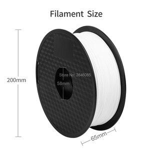 Image 5 - Ender Marke PLA Filament Proben 2Pcs 1KG/roll 1,75mm Schwarz + Weiß Zwei Farbe für CREALITY 3D Drucker/Reprap/Makerbot