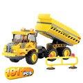 Kazi Cidade Construir Truck Series Building Block Define 191 + pcs Iluminai Educacional DIY Construção Tijolo Brinquedo Compatível Com presente