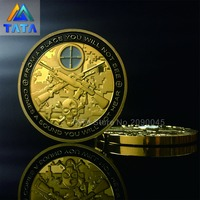 New Arrival USA Sniper Coins Army Gold Plating Commemorative Coins America Military Soldier Yager Souvenir Coin