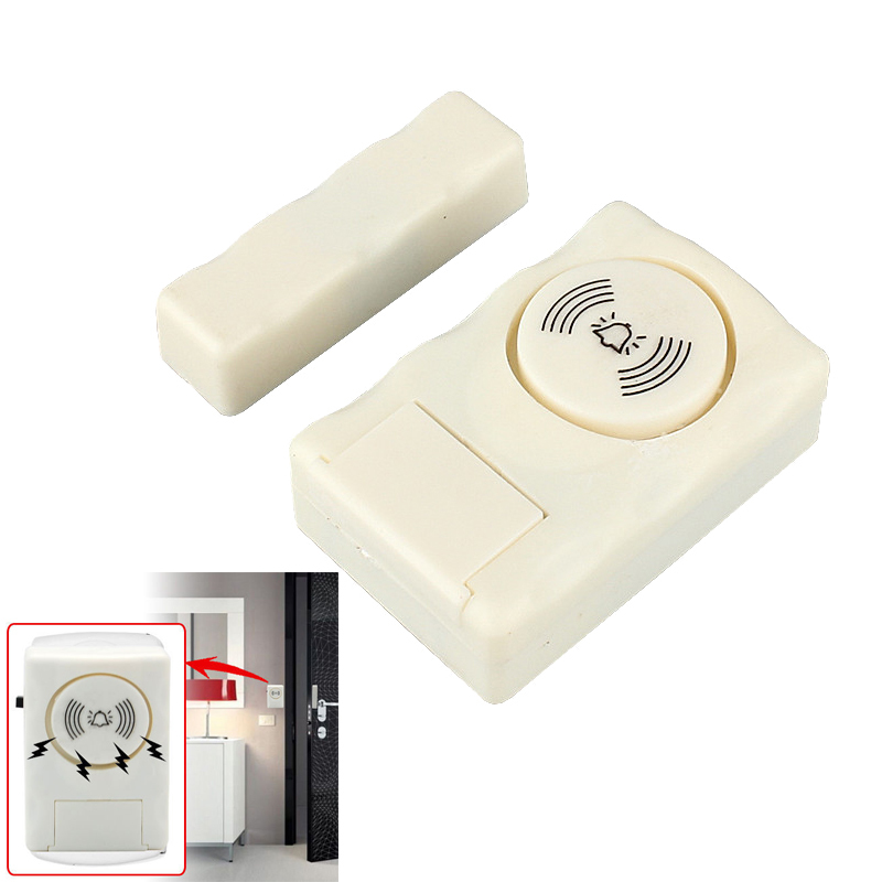 Wireless Home Security Door Window Entry Alarm Warning System Magnetic Sensor wireless home door window entry burglar security alarm magnetic sensor in stock best selling and best quality in 2017