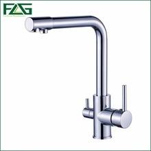 FLG 100 Copper Chrome Polished Swivel Drinking font b Water b font Faucet 3 Way font