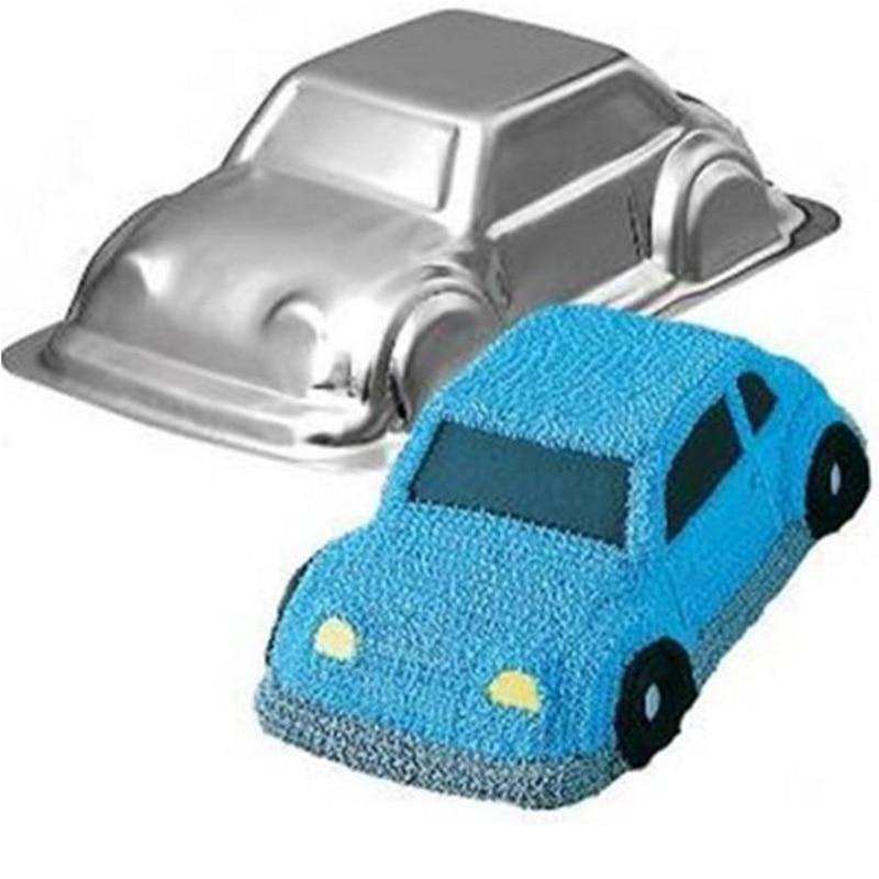 New Arrivals car shaped aluminum alloy cake molds Cake/Egg Tart Mold cake decoration for party baking cake mould