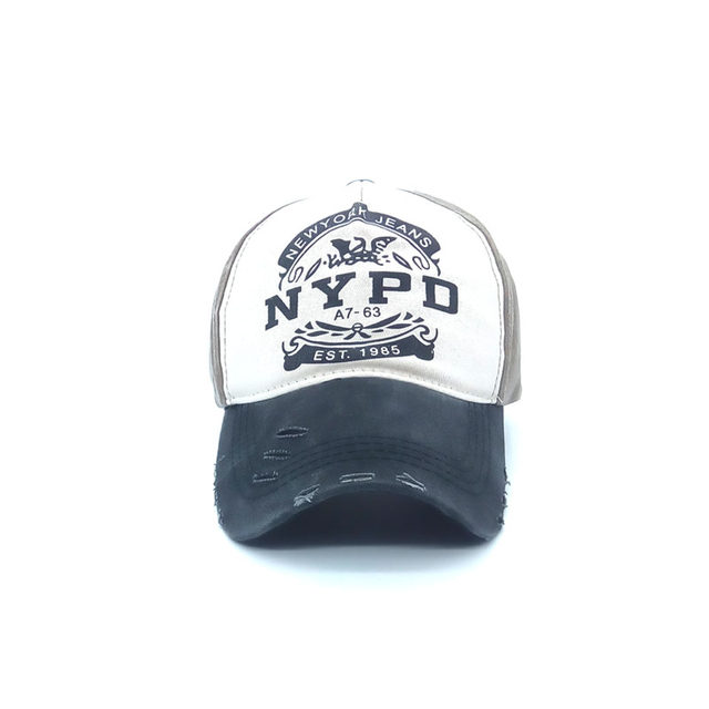 New Fashion High quality nypd Cap Unisex couple Washed Cotton Adjustable Baseball  Cap Casual Snapback Hats For Men Women NYPD 683e0796b2