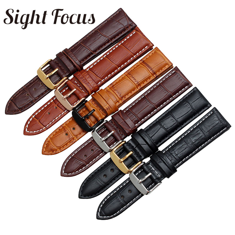 Calfskin Leather for Diesel Watch Band Strap Watchbands Watch Strap for Diesel 16mm18mm 19mm 20mm 21mm 22mm 23mm 24mm 26mm 28mm