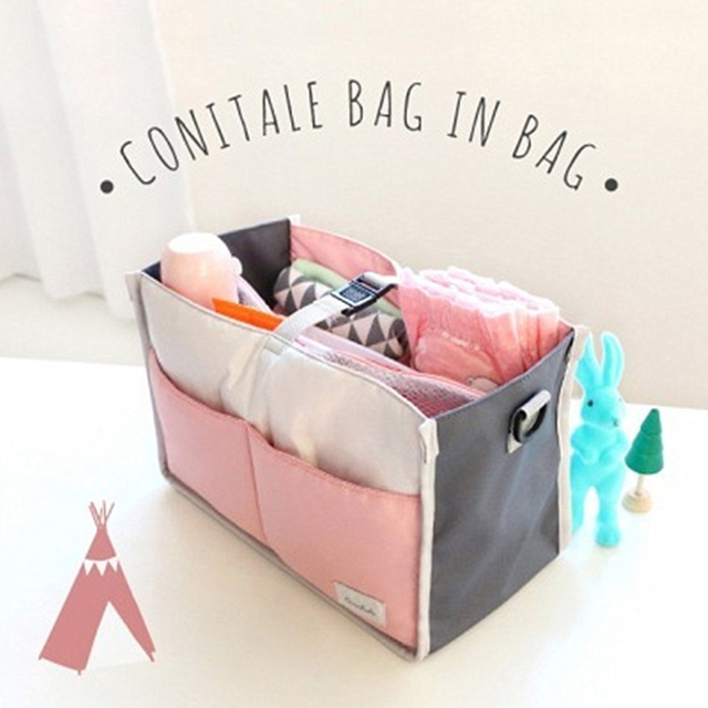 High-quality Multifunction Mummy Package Portable Waterproof Oxford Cloth Mother Baby Travel Bags Mummy Nappy Bags Package LL015