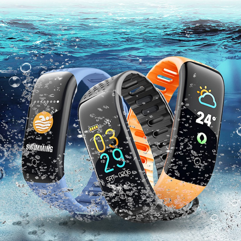 Z6 Smart Armband Bloeddruk Monitoring Sport Ip67 Waterdichte Zwemmen Smart Armband Tafel Band