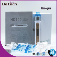 Portable Skin Injection System Water Mesotherapy Mesogun Injector Wrinkle Removal Beauty Machine