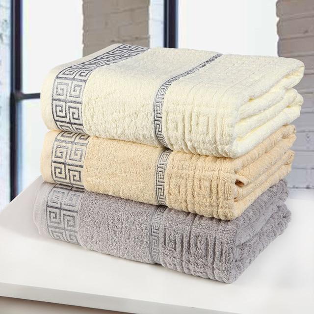 Bath Towels In Bulk Best Aliexpress Buy 6060cm 60%cotton Luxury Geometric Bath Towel