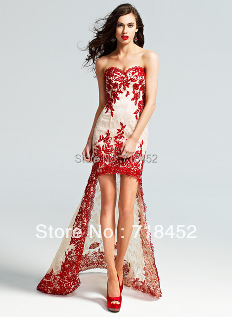 Perfect Short Red Prom Dresses 2014 Composition - Dress Ideas For ...