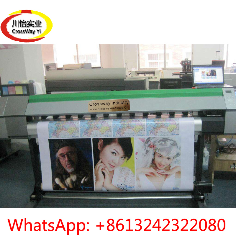 large format eco solvent Printer with DX7 head