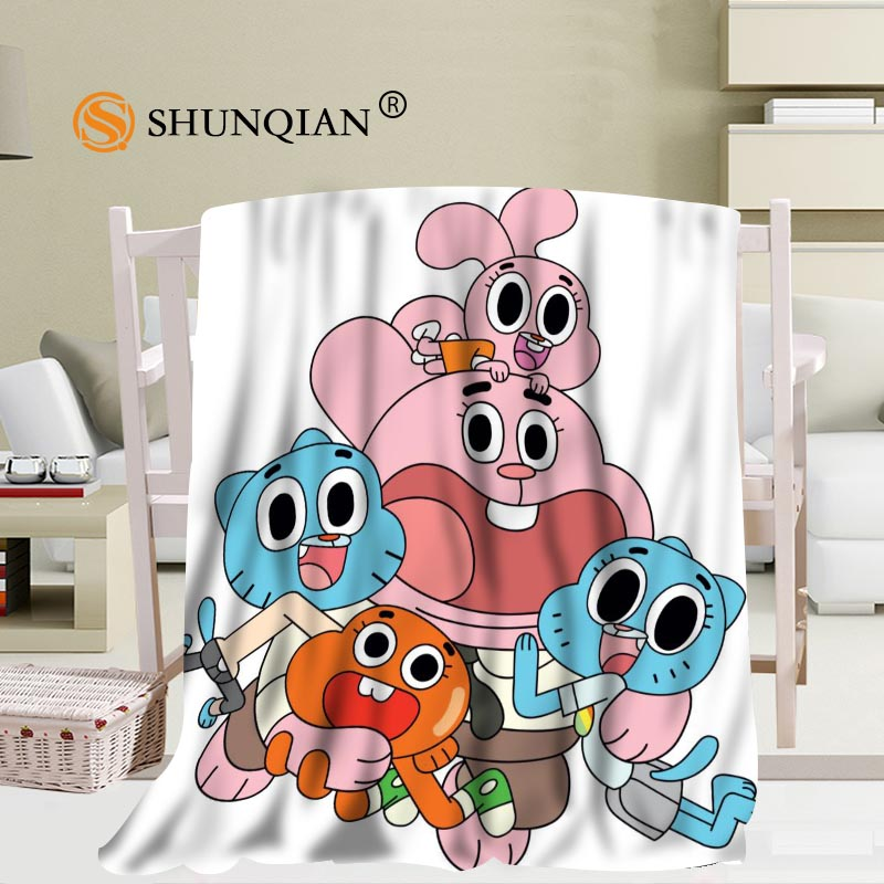 Custom Blanket The Amazing World Of Gumball Soft Blanket Diy Your Picture Decoration Bedroom Size 56x80inch 50x60inch 40x50inch Buy At The Price Of 28 69 In Aliexpress Com Imall Com