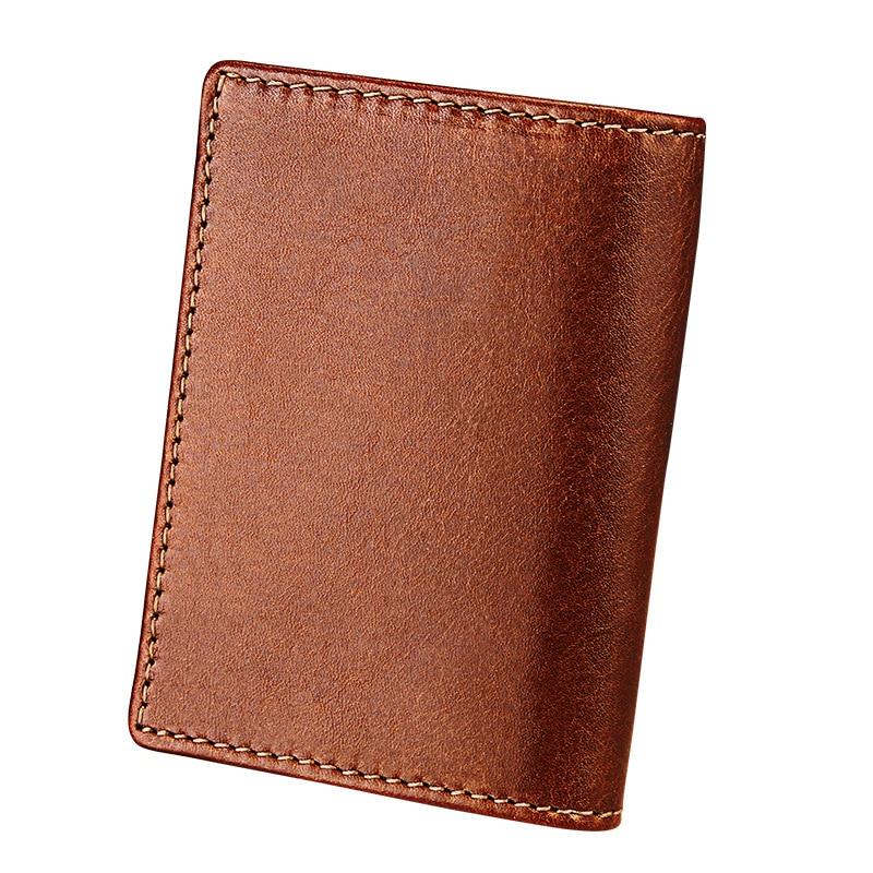 genuine leather credit card holder brand designer simple