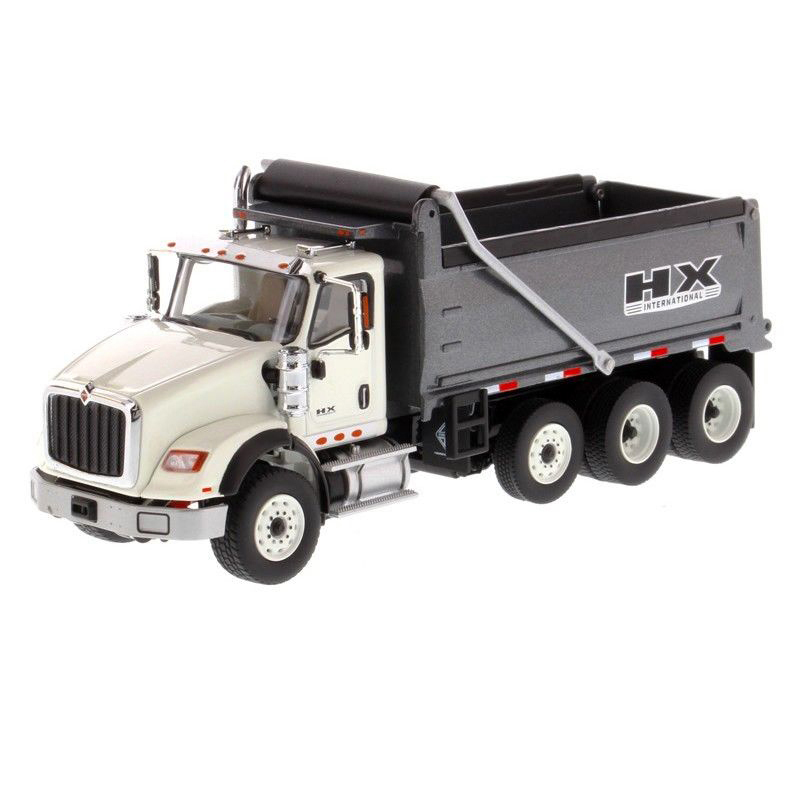 Collection Diecast 1/50 Grey International HX620 Dump Truck Vehicle Alloy Car Model Diecast Masters diecast model cars toy gift Collection Diecast 1/50 Grey International HX620 Dump Truck Vehicle Alloy Car Model Diecast Masters diecast model cars toy gift
