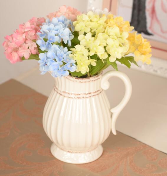 1 Stucke Romantische Hochzeits Blumenstrauss Kunststoff Seide