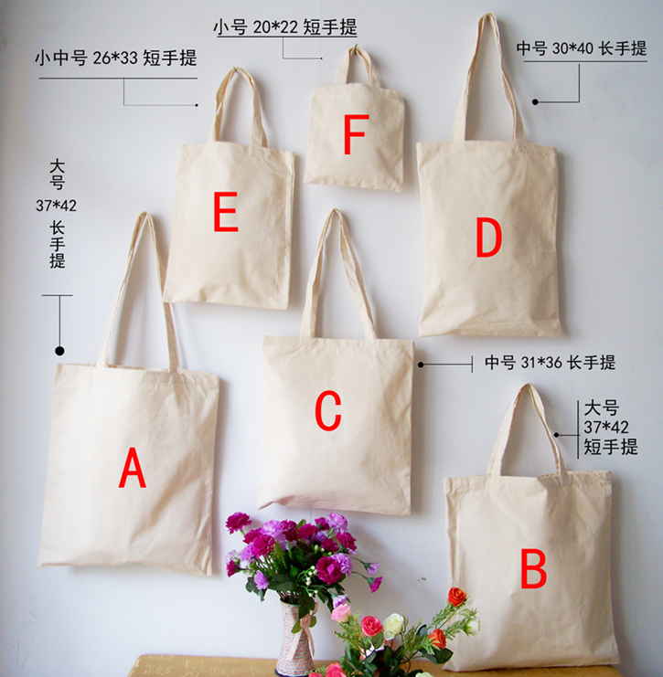 wholesale 500pcs lot Custom printed promotional natural cotton tote canvas  cloth carry shopping bag-in Shopping Bags from Luggage   Bags on  Aliexpress.com ... d59da8813a