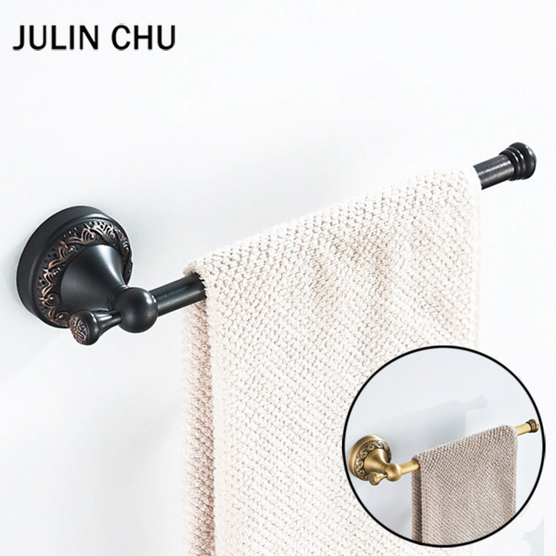 Awe Inspiring Us 17 43 29 Off Black Towel Ring Bronze Brass Antique Towel Bar Retro For Kitchen Bathroom Hand Towel Holder Bar Rail Wc Big Toilet Paper Holder In Download Free Architecture Designs Scobabritishbridgeorg