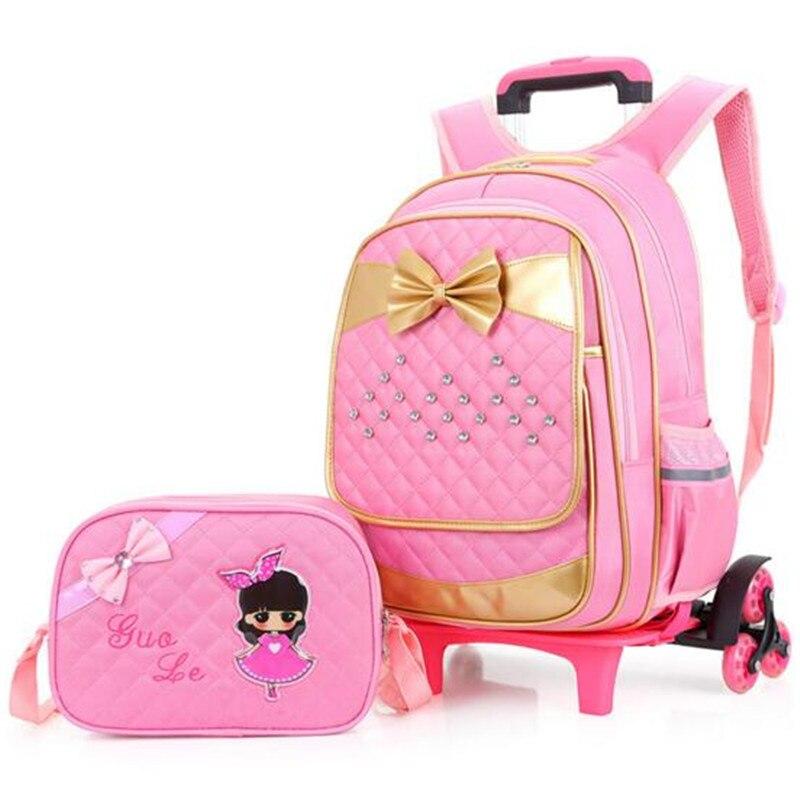 ФОТО Boutique cartoon style backpack girls new rod bag children rucksack, lovely cartoon car and children's school bags bag 3grade 6