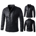 Men's Jackets Washable Leather Jacket Winter Jacket Men Coats Casual Woolen Liner Outerwear