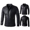 Men's Jackets Washable Leather Jacket Winter Jacket Men Coats Casual Woolen Liner Outerwear