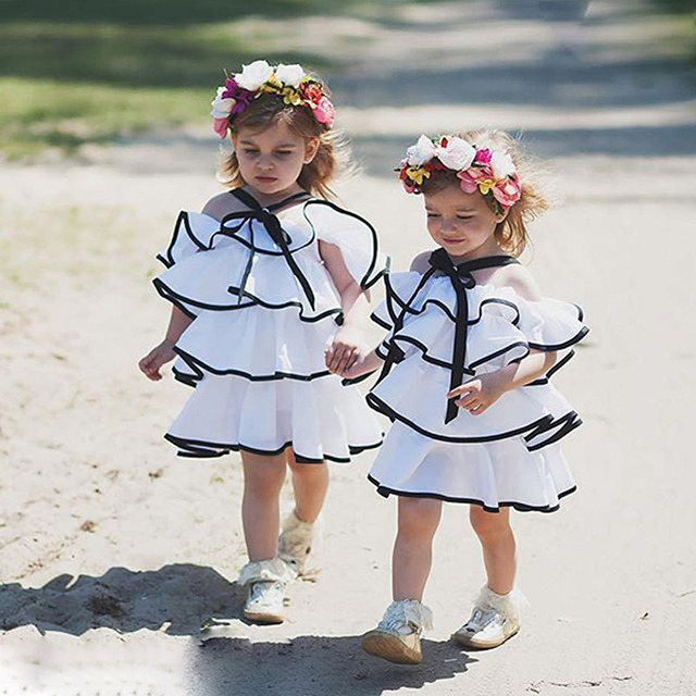 Baby Girl Roupas de Verão Anniversaire fille Bapteme Recém-nascidos lol lol Surpresa Jurk de Aniversário Vestido de Festa Vestidos de Princesa Vestido