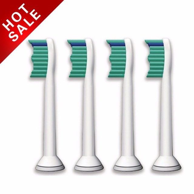 4 шт./лот Замена Головки для зубных щёток для Philips Sonicare ProResults HX6013/66 hx6530 hx9340 hx6930 hx6950 hx6710 hx9140